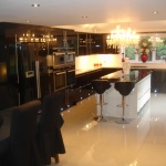 A fantastic living kitchen area created by Carecraft Building Services